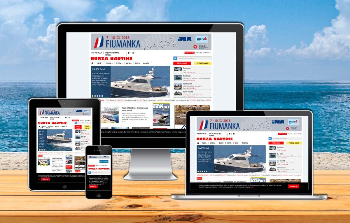 Pretplatnicima dostupno novo online izdanje Nautike