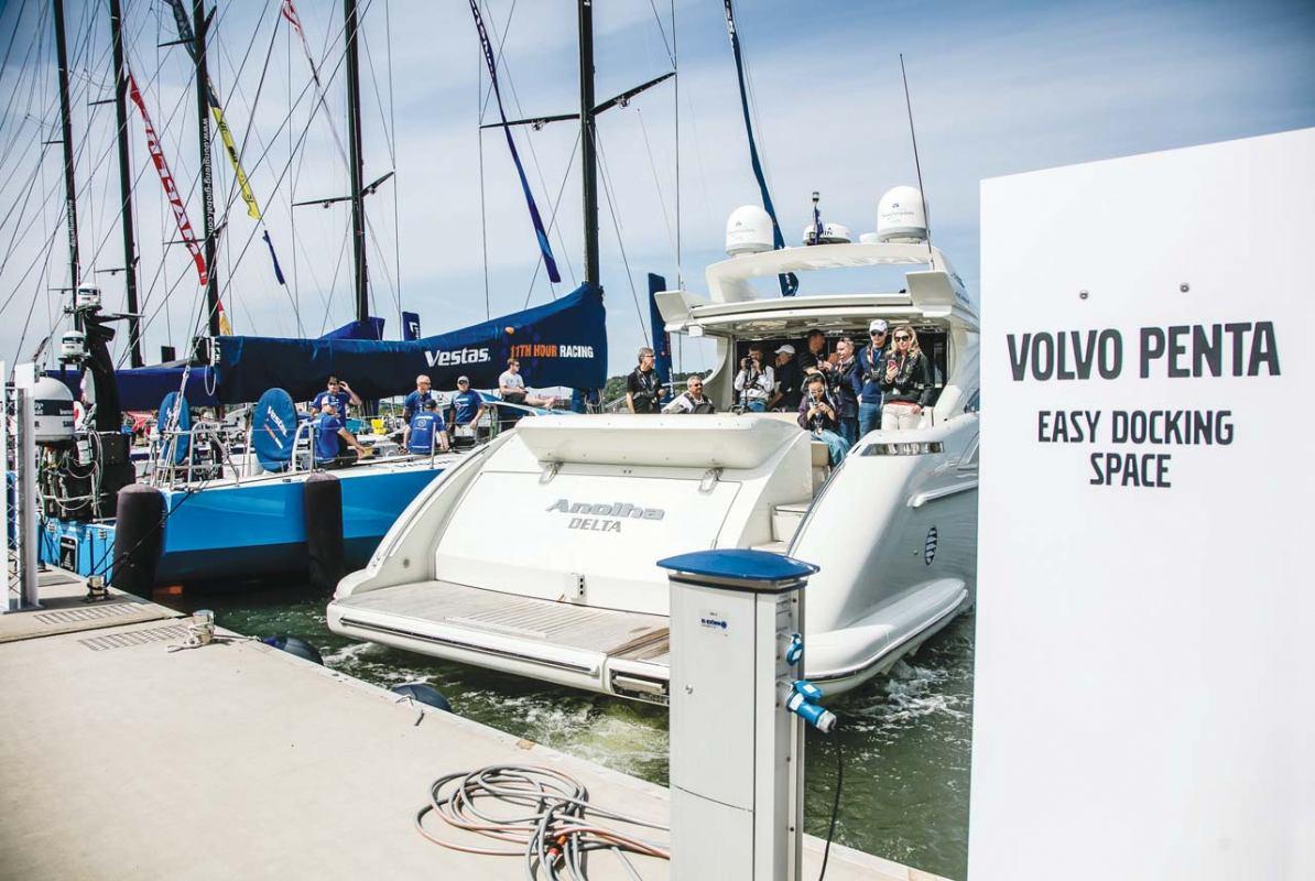 Revolucionarni sustav za autonomno pristajanje Volvo Penta Easy Docking Space