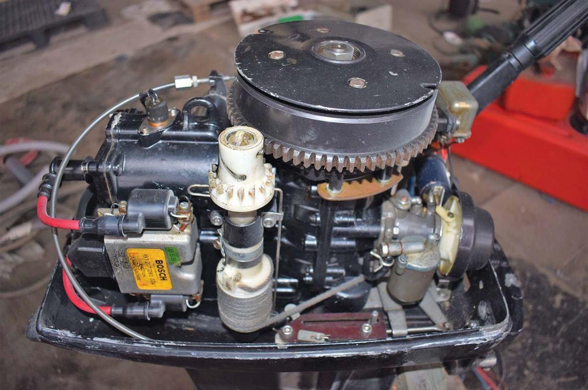Održavanje izvanbrodskog motora