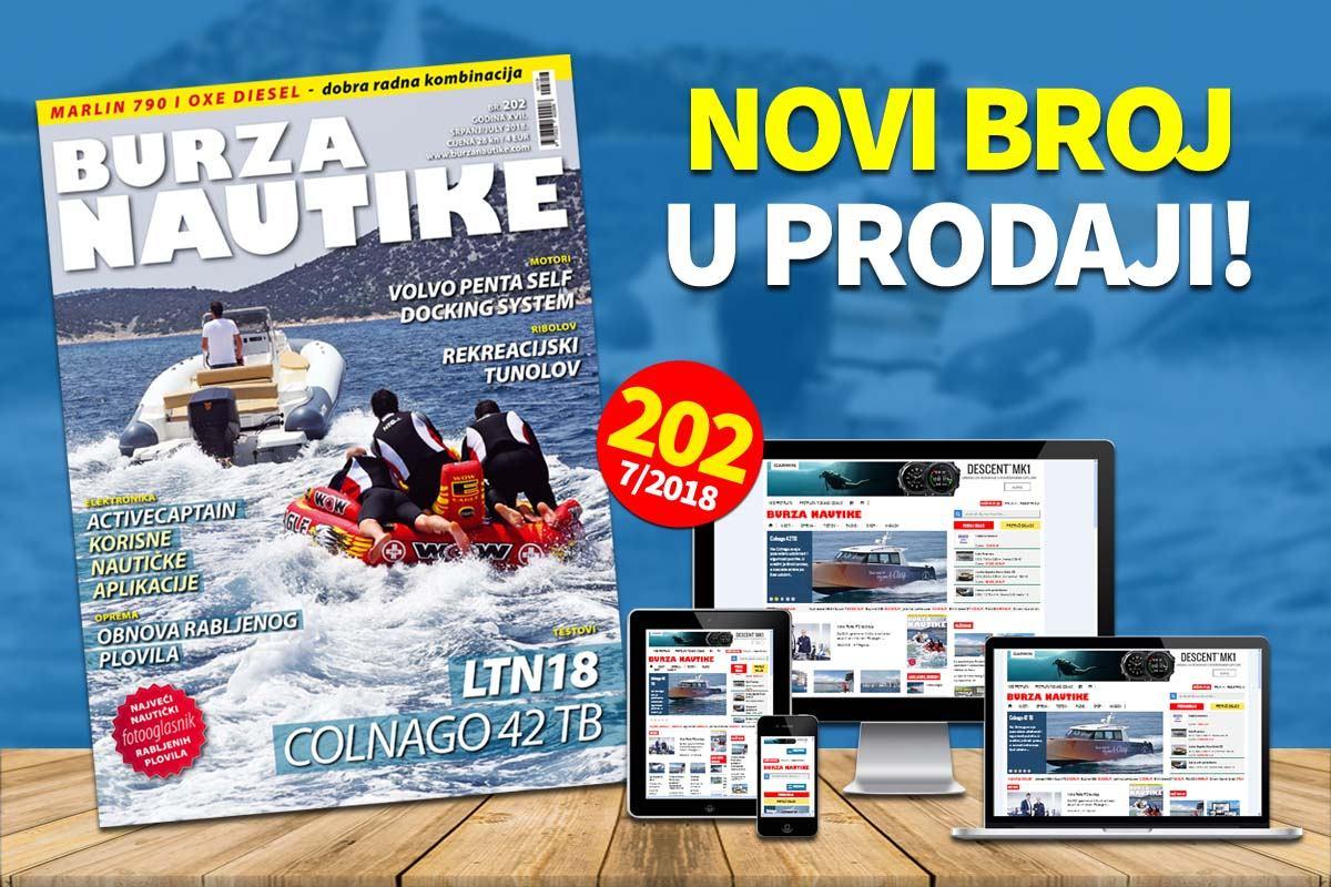 Tiskano izdanje Burze Nautike od danas u prodaji!