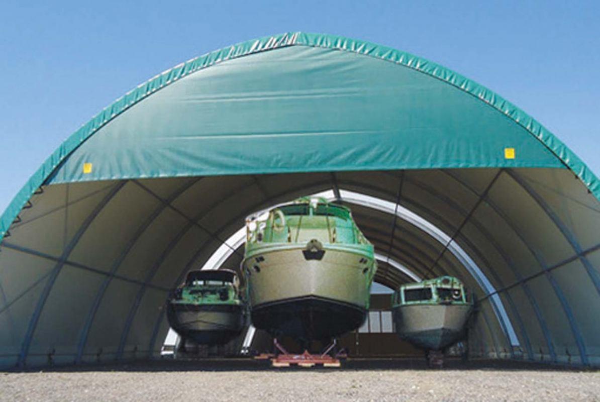 Montažni hangari za plovila