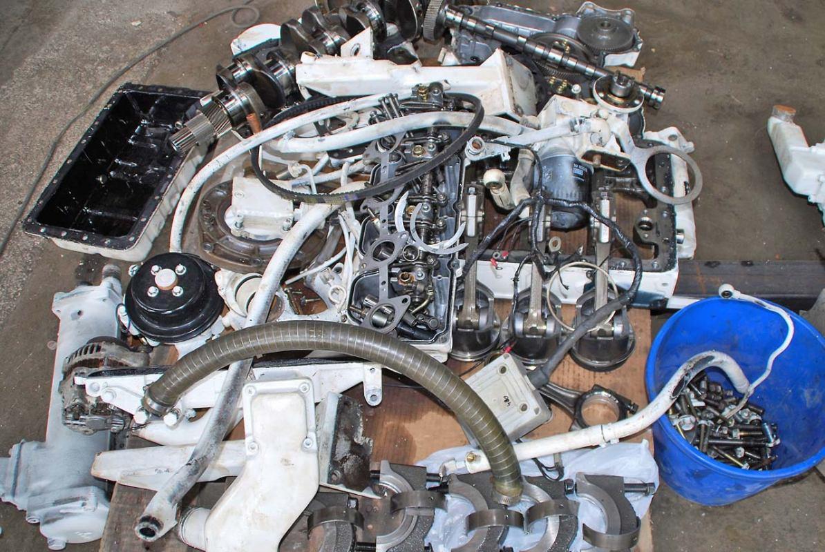 Zamjenski dijelovi za Volvo motore