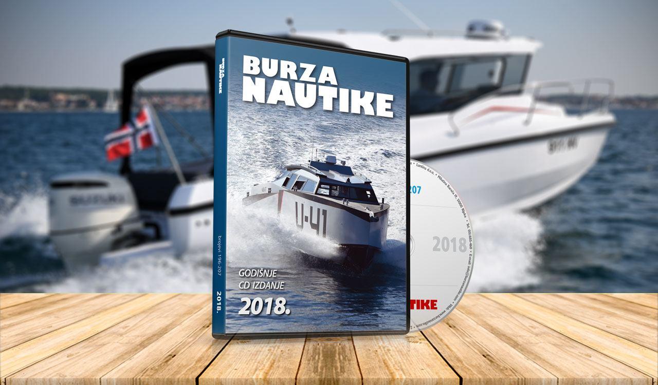 CD godišnjak Burze Nautike za 2018. godinu je stigao!