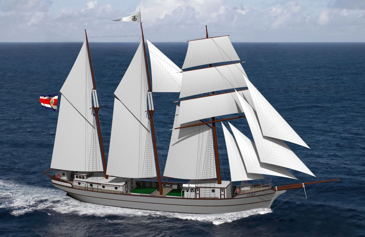 Nakon 100 godina gradi se drveni teretni jedrenjak!?