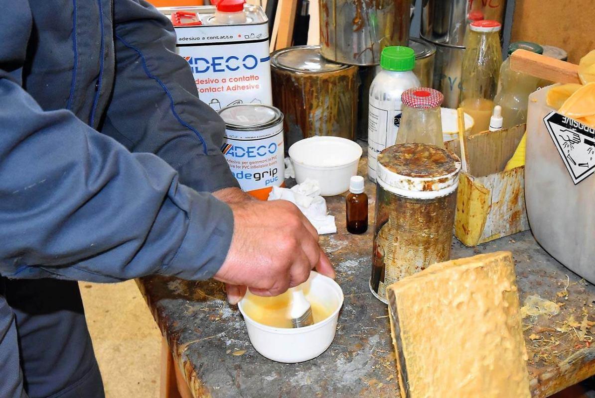 Popravak  PVC i hypalon gumenjaka