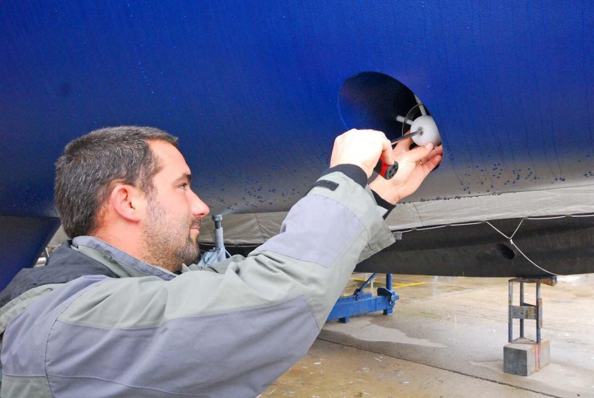 Zaštita pramčanog propelera