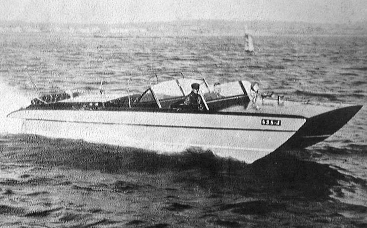 Hickman Sea Sled - malo drugačiji dvotrupac