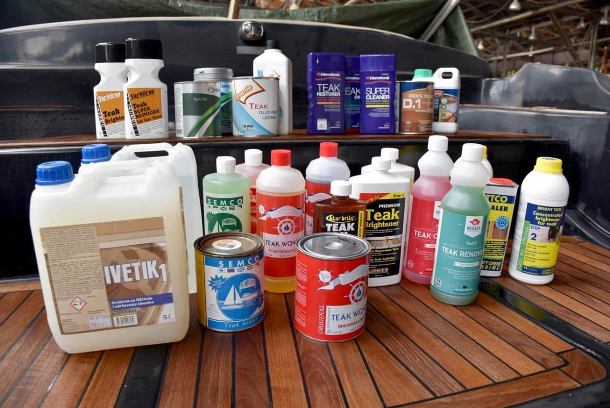 Sredstava za pranje  i održavanje tikovine