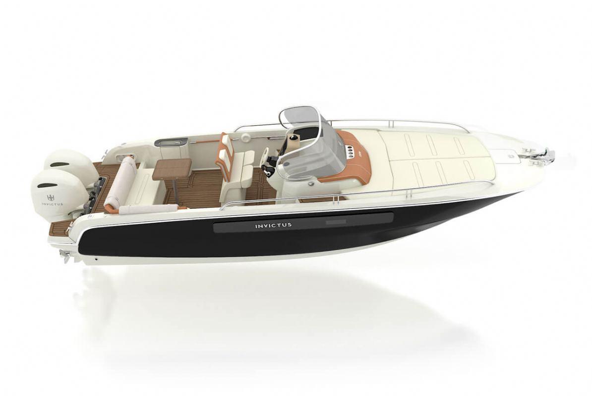 Novo plovilo talijanskog brodograditelja Invictus Yachts