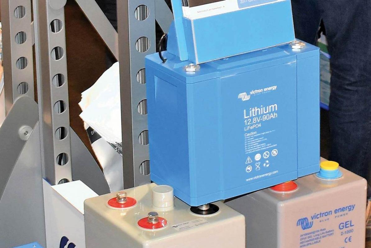 Jednostavni sustav  s Litij-ionskim  baterijama