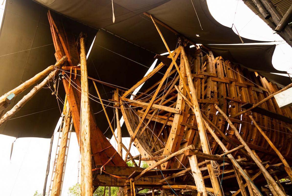Drveni jedrenjak Ceiba poprima finalne konture