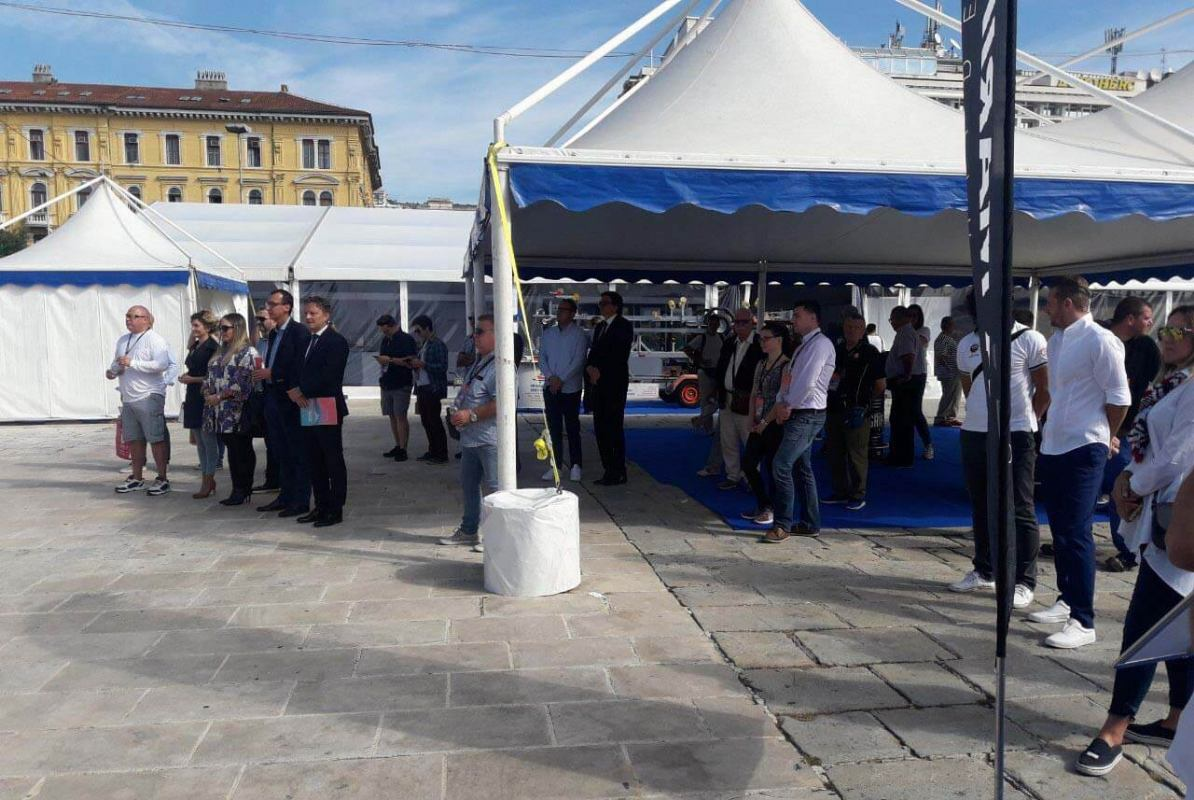 Svečanim otvorenjem na  prostorima Gata Karoline Riječke počeo je Rijeka Boat Show