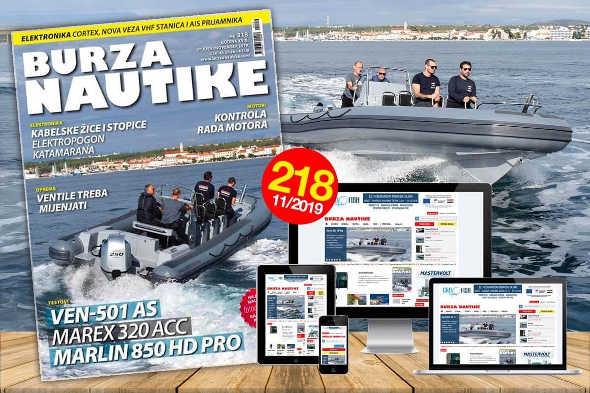 S prvim radnim danom mjeseca studenoga na kioscima se pojavio novi broj Burze Nautike!