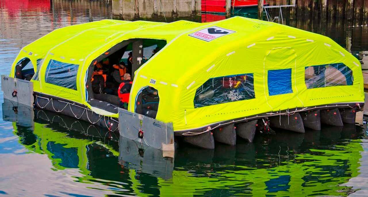 LifeCraft - pola splav, pola čamac za spašavanje