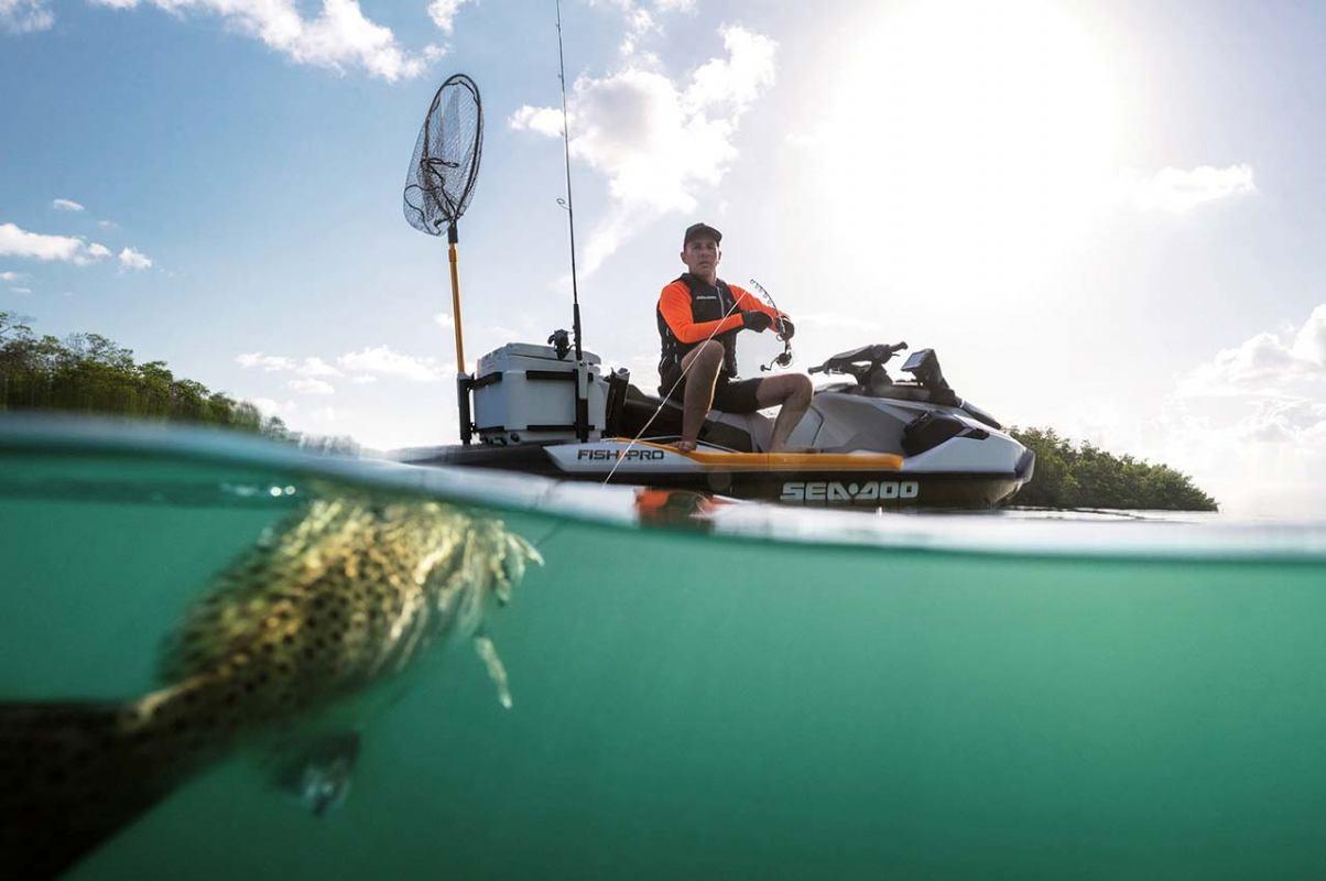 Prvi ribolovni skuter Sea Doo Fish Pro 170