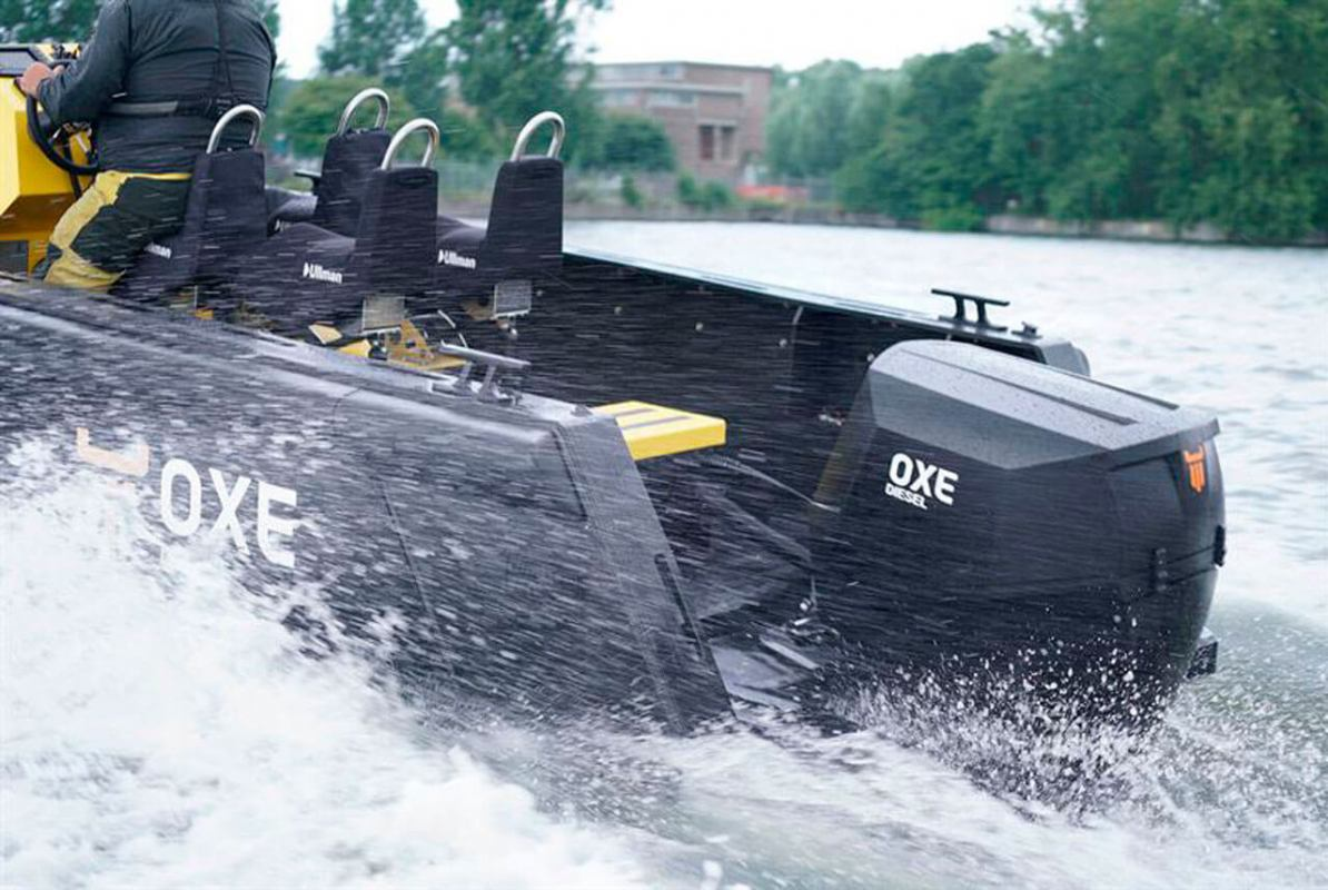 OXE 300 daje novu snagu radnim brodicama