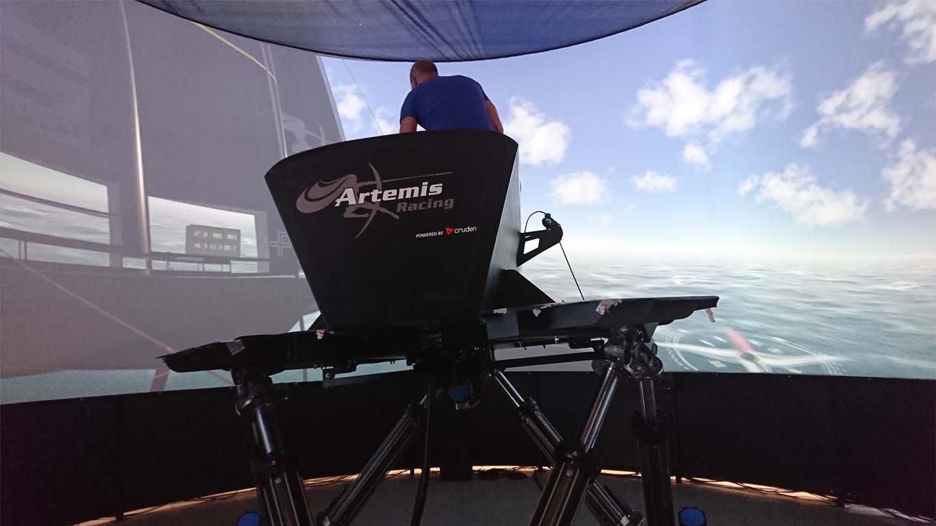 Simulator plovidbe koji oponaša stvarne uvjete na moru