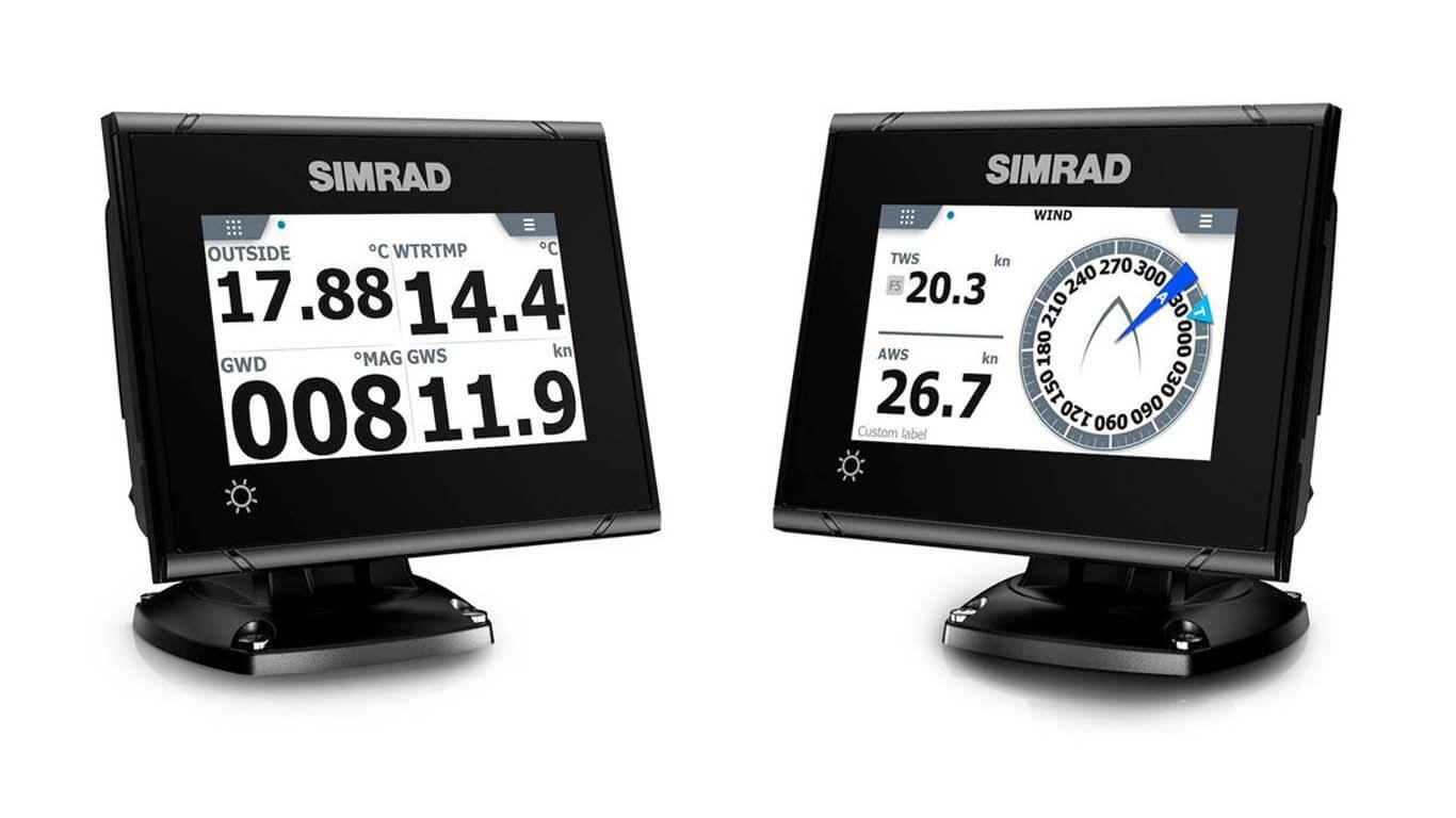 Simrad je predstavio dva profesionalna instrumenta I3005 i I3007