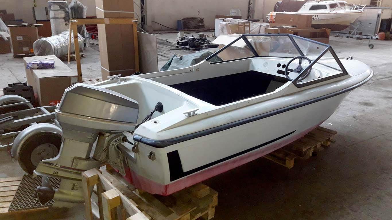 Restauracija glisera Merlin II Sportboot
