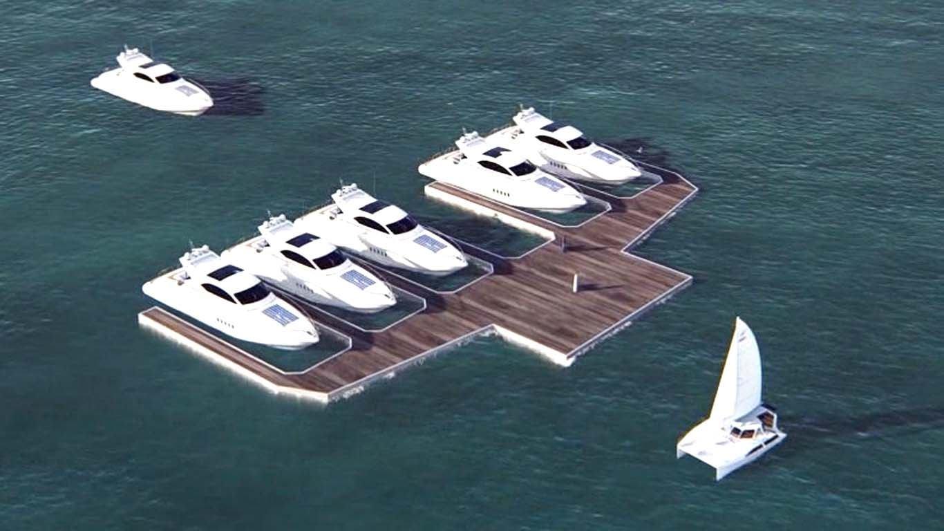 Privatni otok ili modularni plutajući vez?