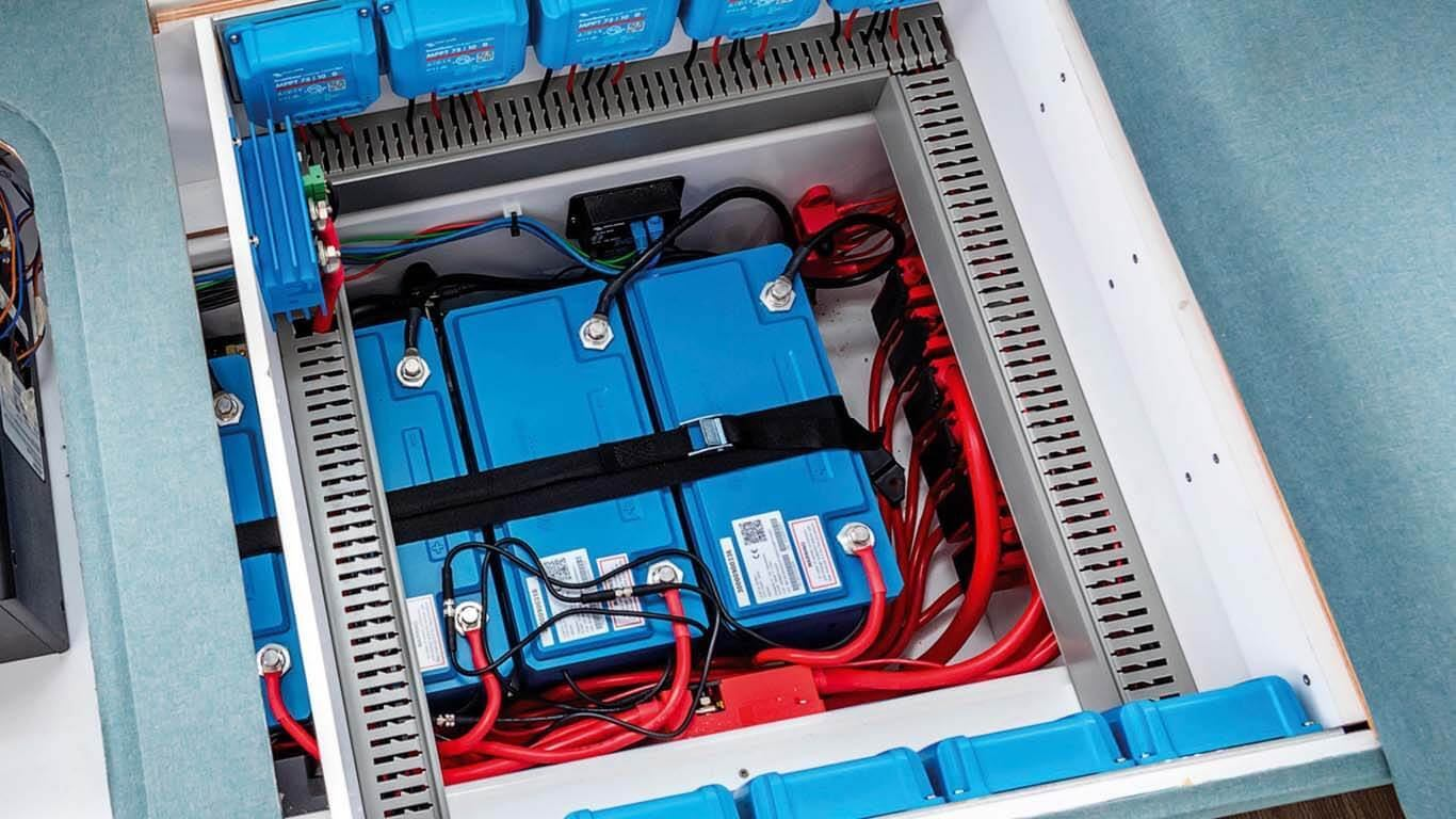 Sustav za  nadzor LFP baterije