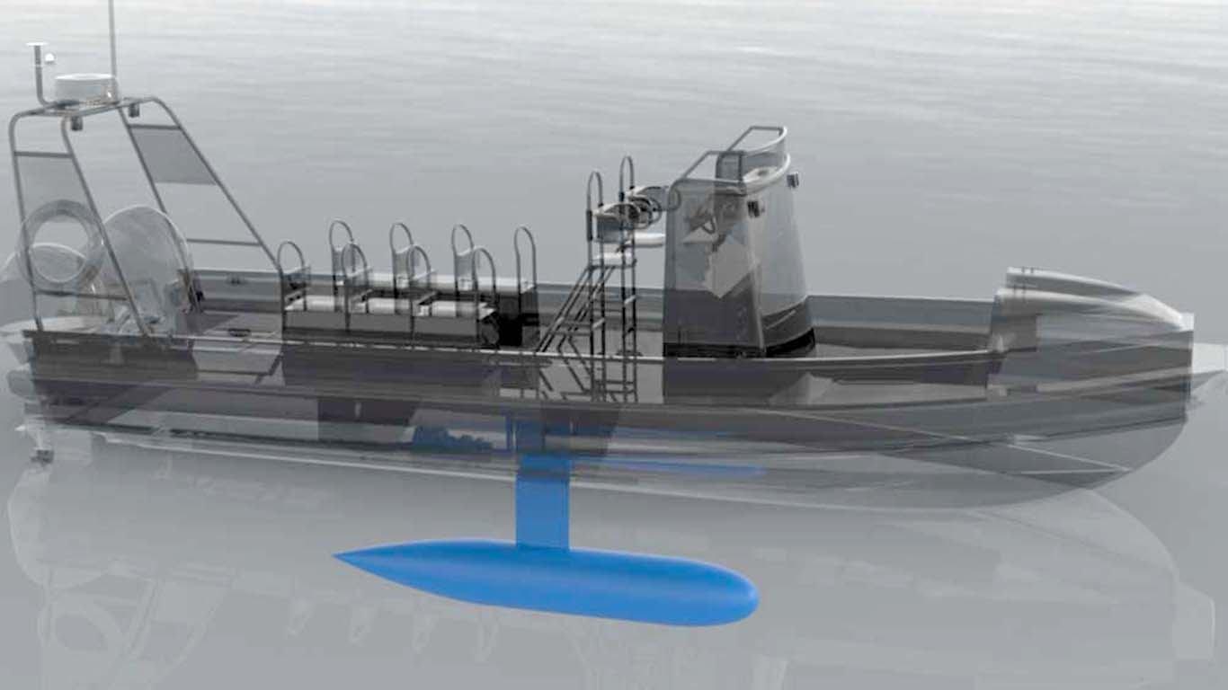 Airkeel je jednostavno i jeftino rješenje za umirivanje valjanja plovila