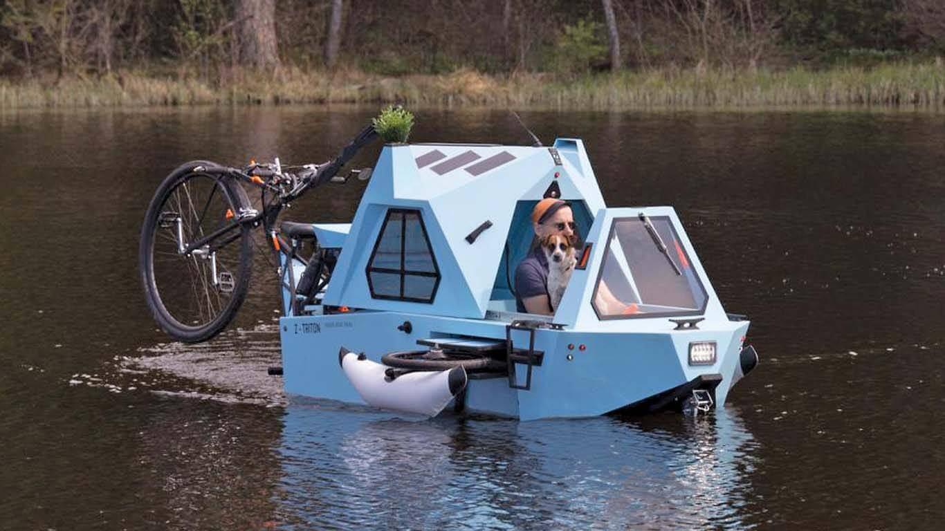 Genetskim križanjem tricikla, kamp peikolice i brodice do amfibije