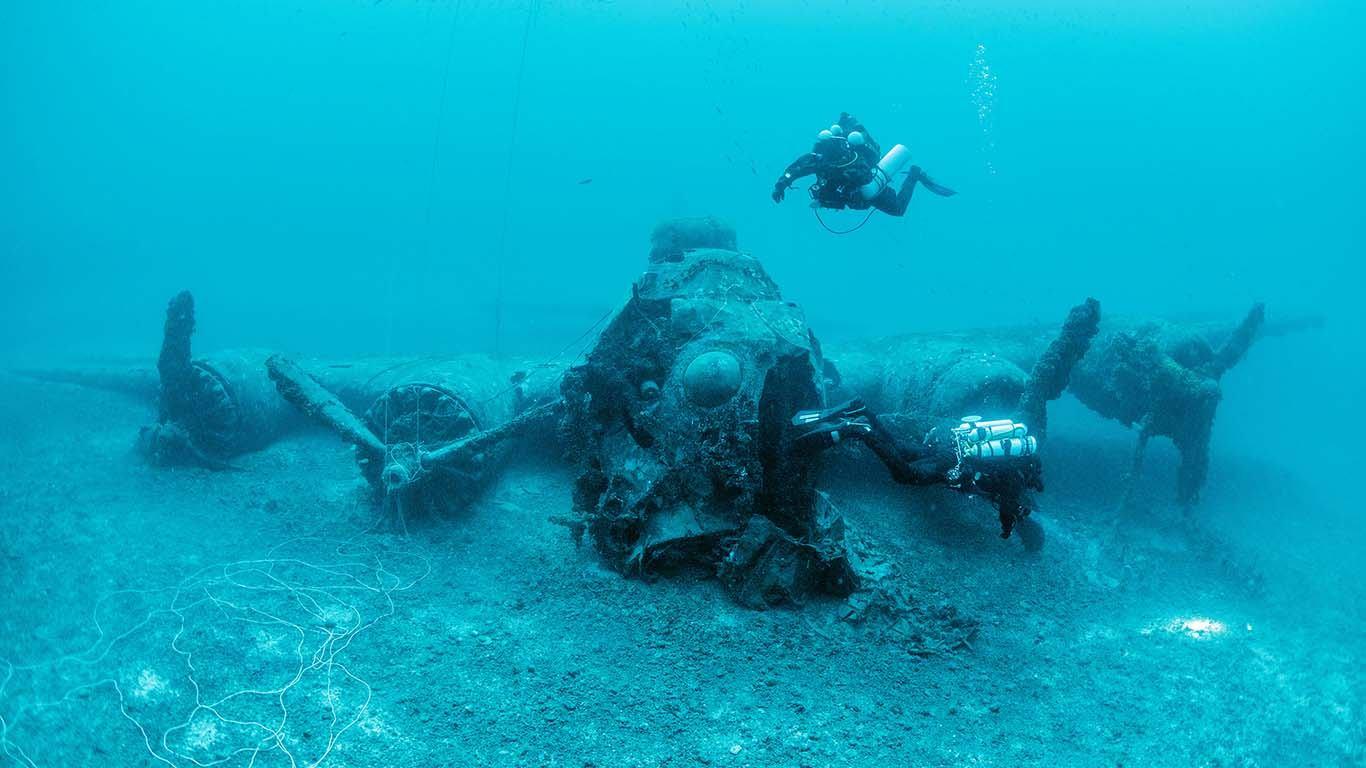 Kustosi viškog podmorskog muzeja