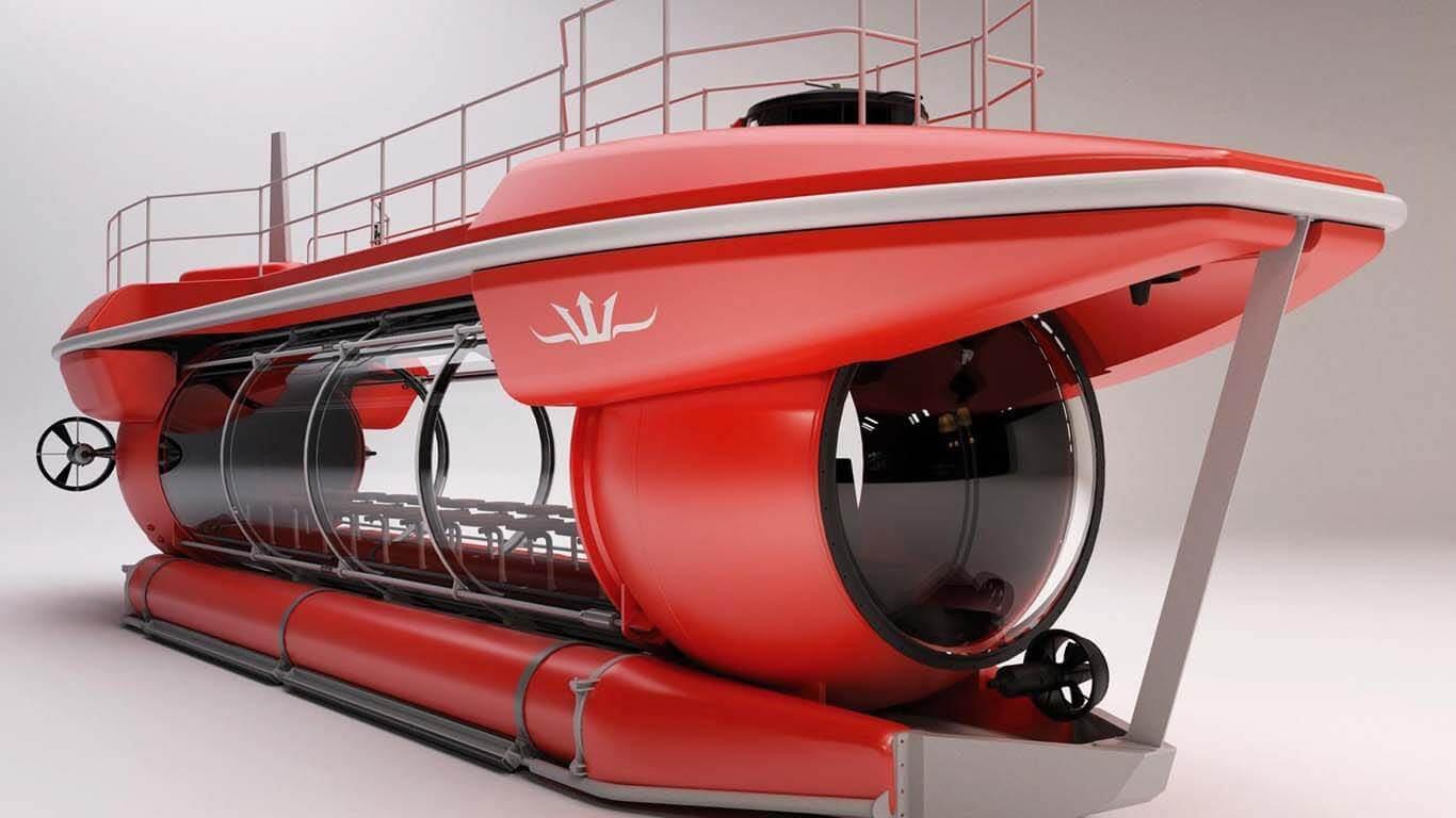 Komercijalna podmornica za podvodne izlete do 100 metara dubine