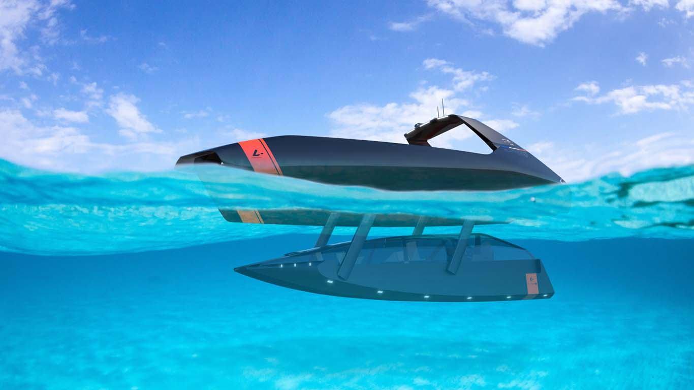 Što malo plovi, malo roni i još k tome je katamaran?