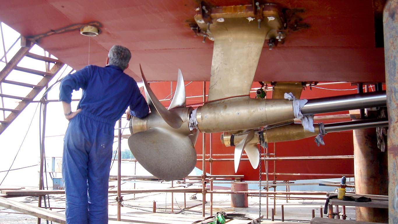 Pregled propulzijskog sustava plovila