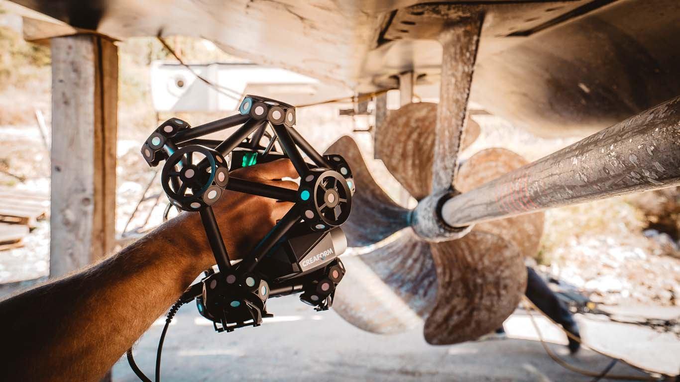 Skeniranje propelera
