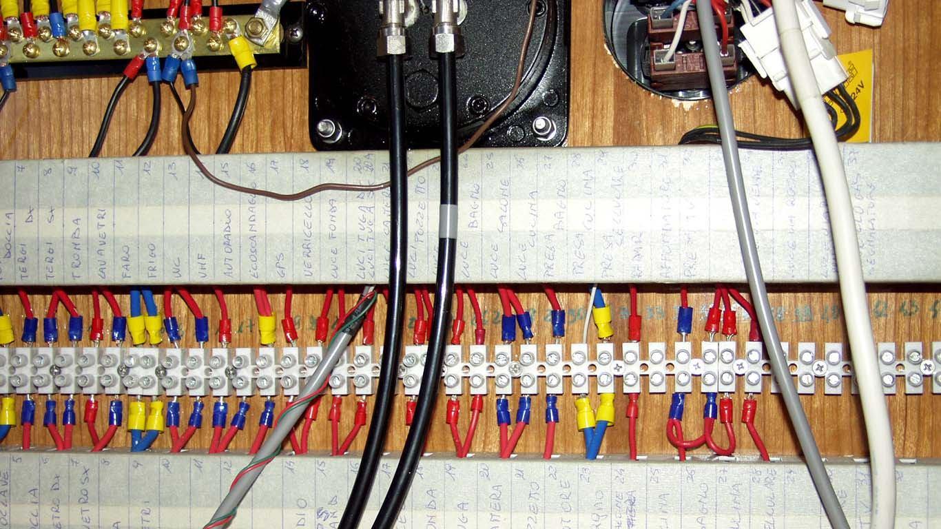 Brodska elektrika (3. dio): Pad napona  i izbor odgovarajućih vodiča