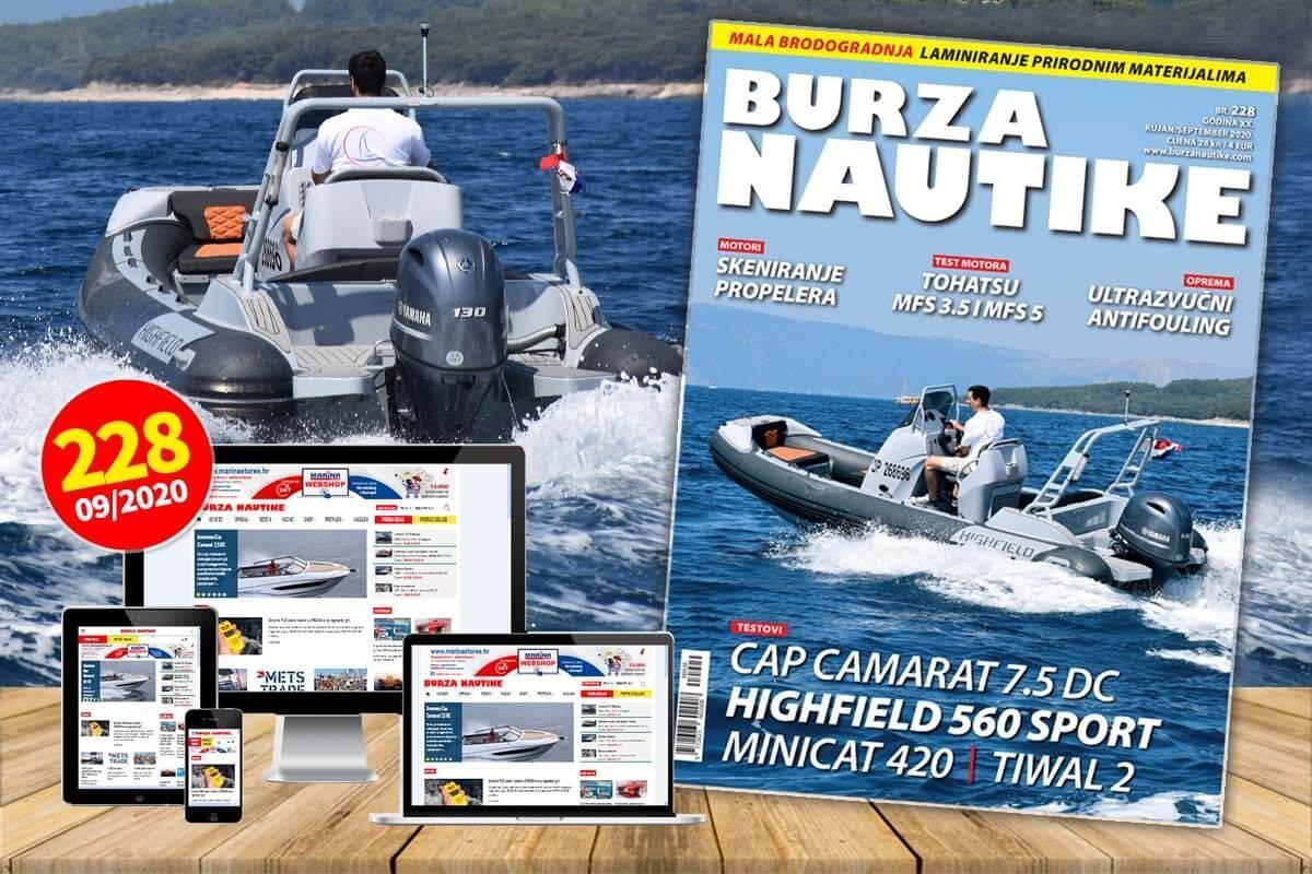 Novo 228. izdanje Burze Nautike je u prodaji!