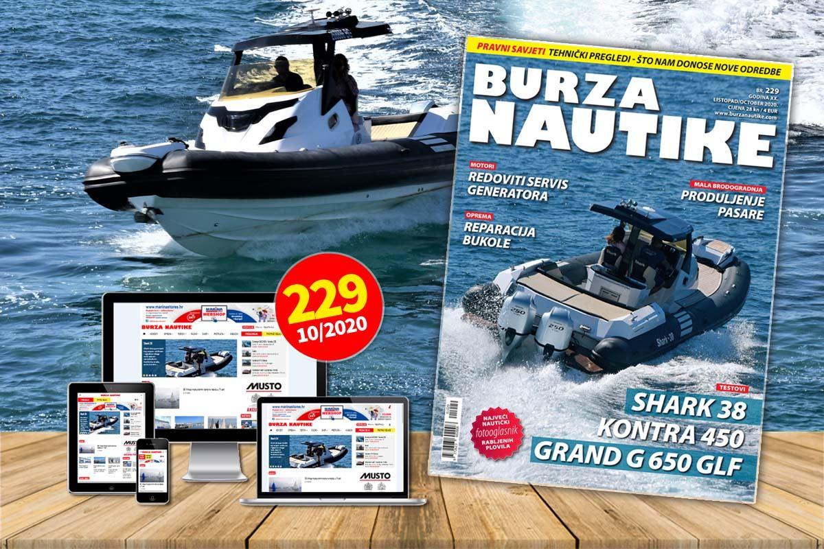 Listopad je najbolji mjesec za listanje Burze Nautike! Požurite, od 2. listopada na svim kioscima i boljim prodajnim mjestima možete pronaći svoj 229. primjerak Burze Nautike!