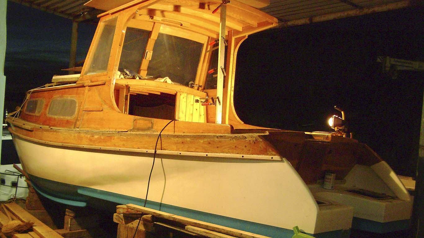 Preinake na drvenoj barci: Početak pravih radova