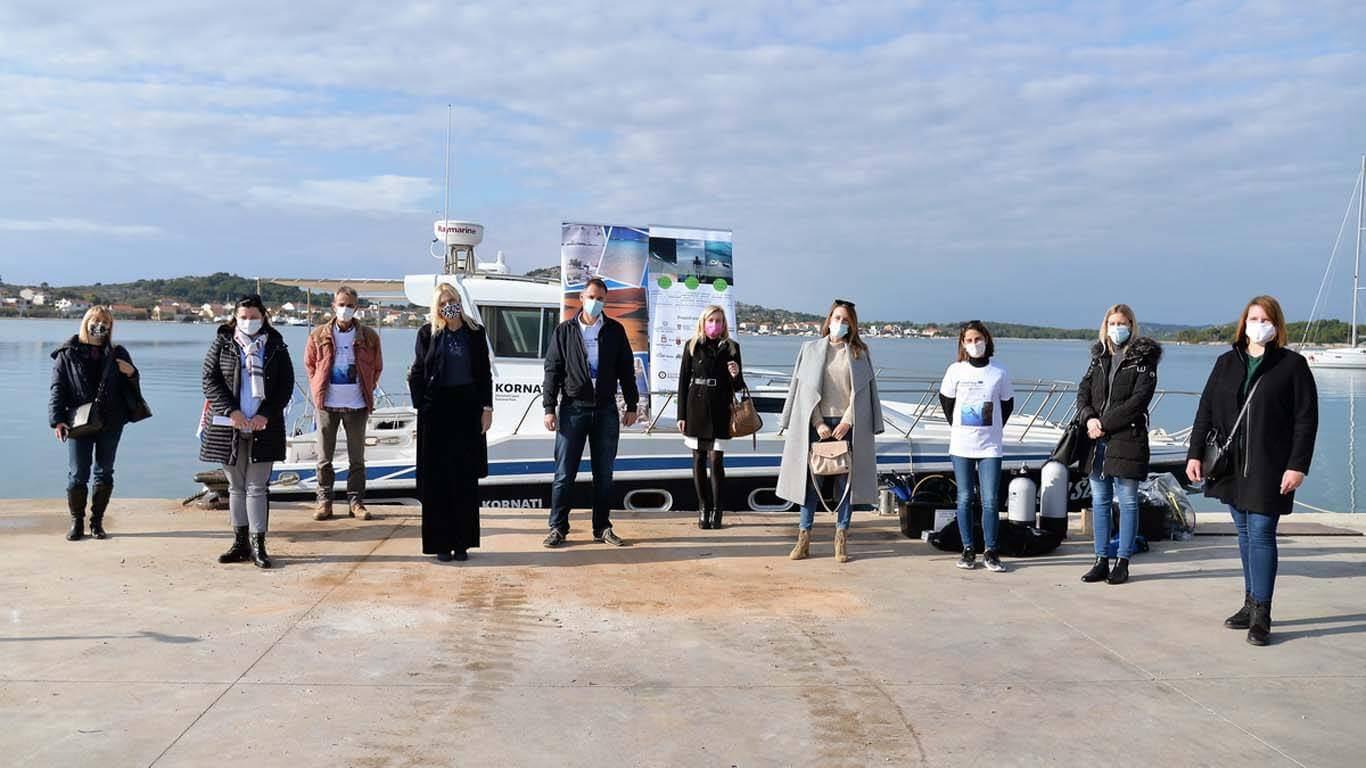 Eko-edukacijska staza – podmorje NP Kornata