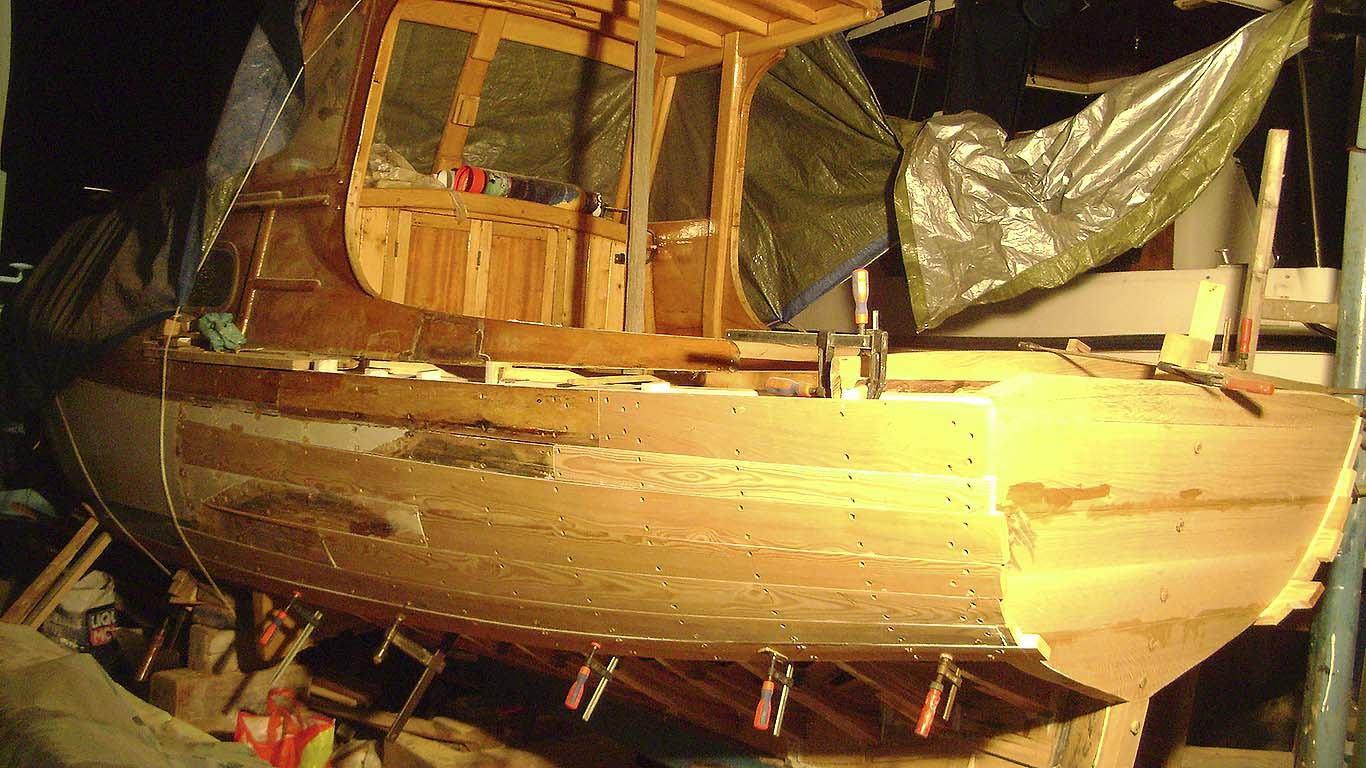 Preinake na drvenoj barci: Nova stara barka