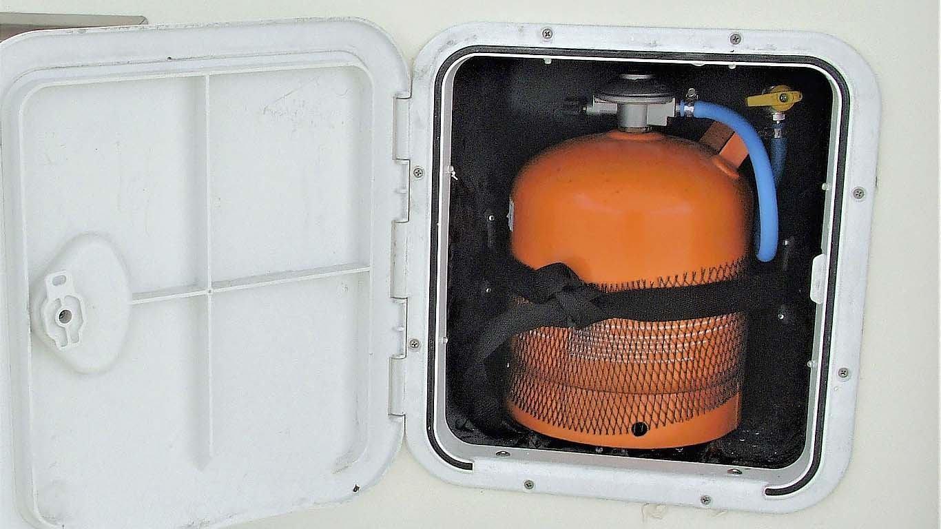 Plinska instalacija na brodu