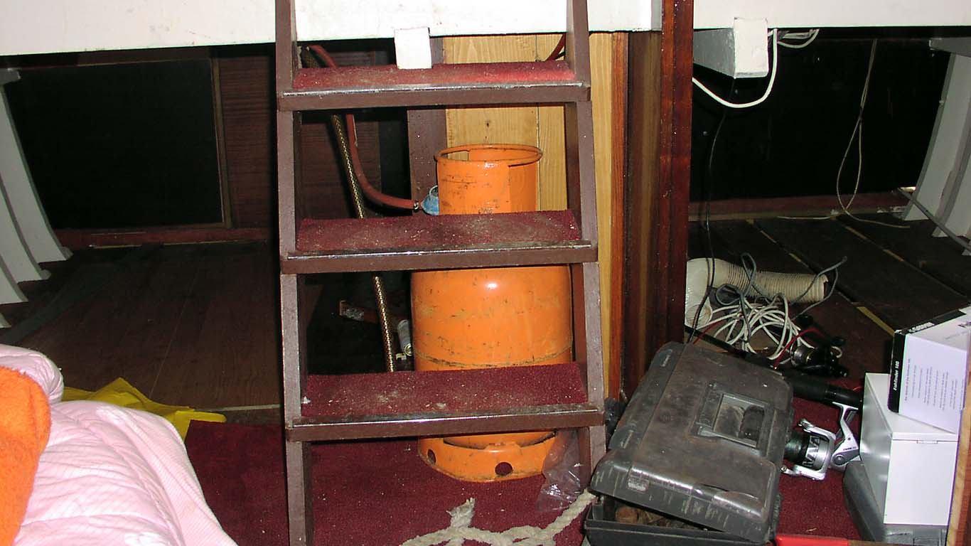 Osnovna pravila za montažu plinskih instalacija i korištenje plina na brodu