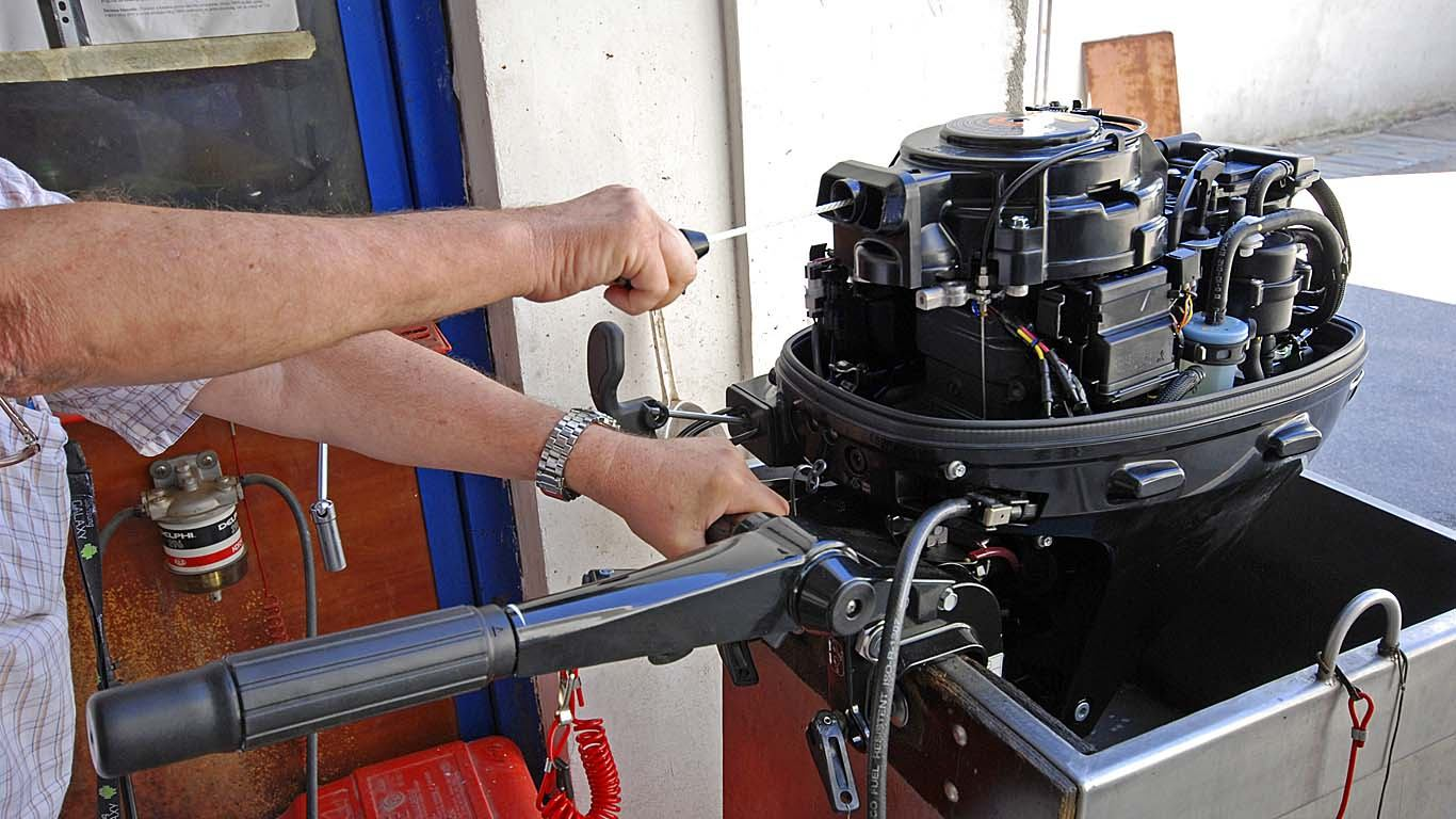 Konzerviranje izvanbrodskog motora