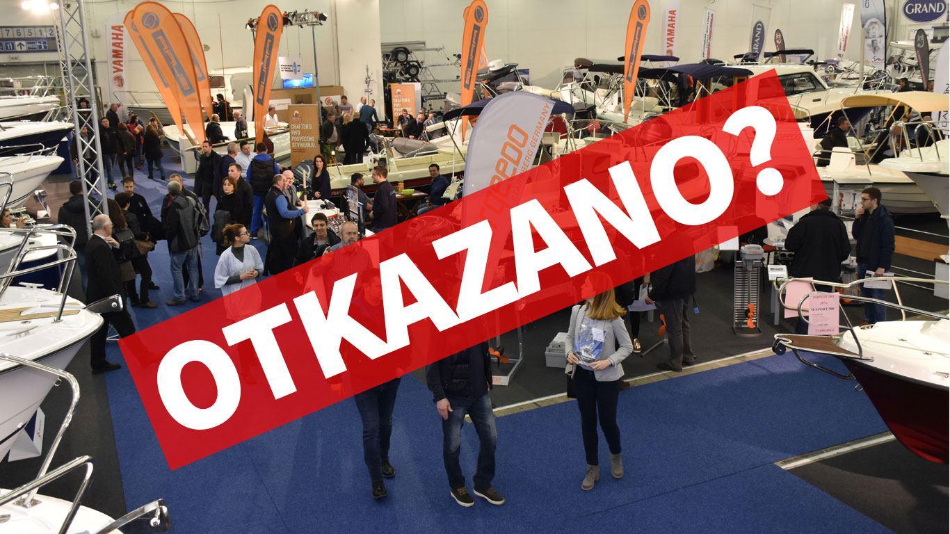 Otkazan i Zagrebački sajam nautike?