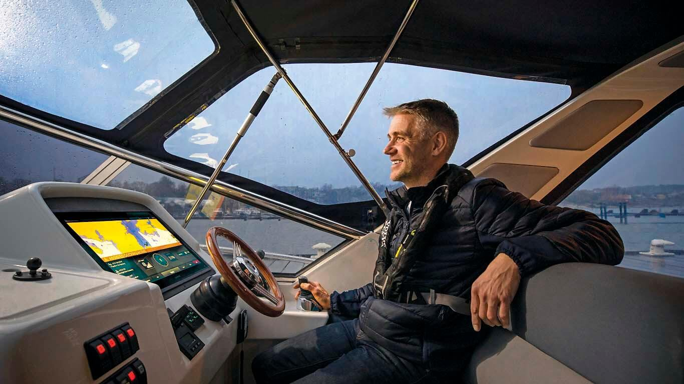 Asistent pristajanja Volvo Assisted Docking System