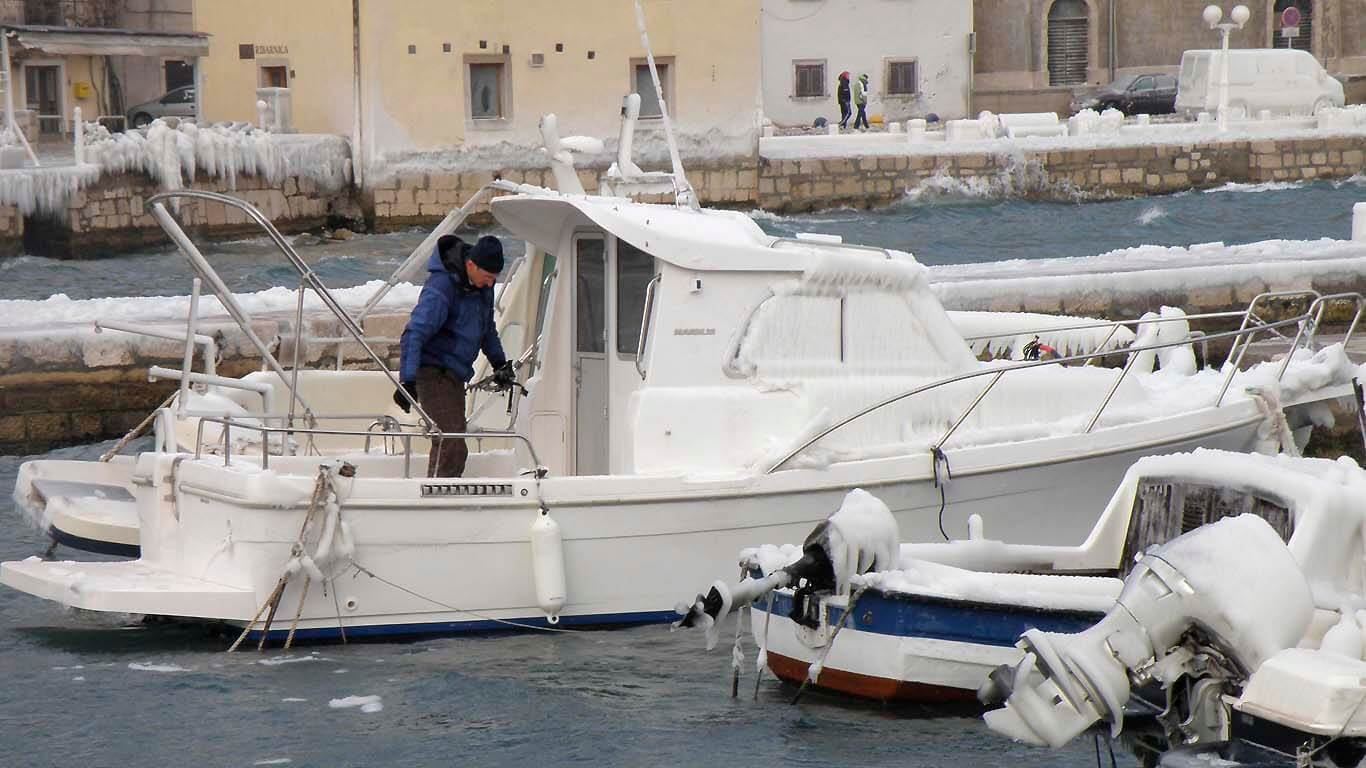 Grijanje na barci