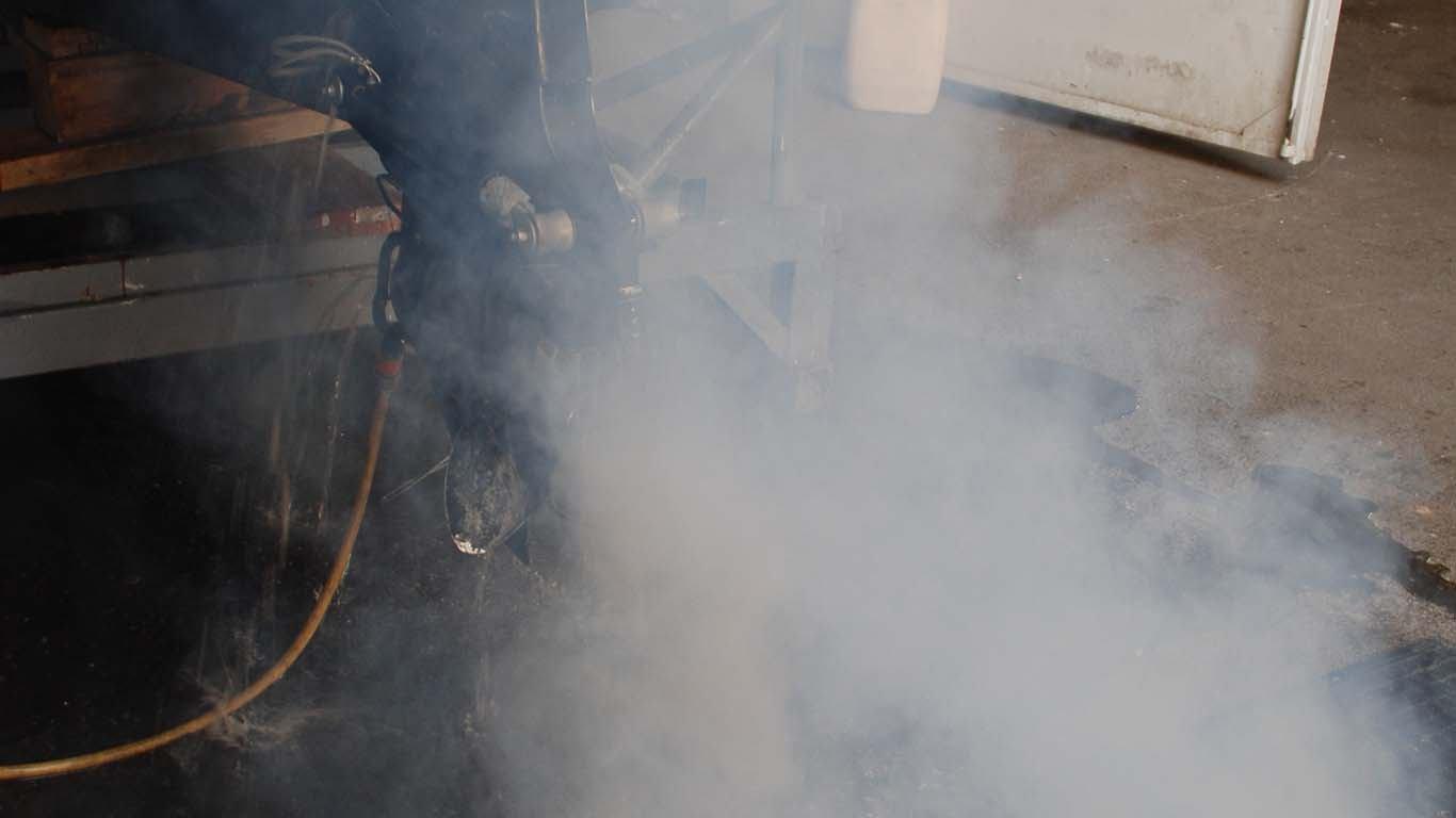 Što kad motor dimi?