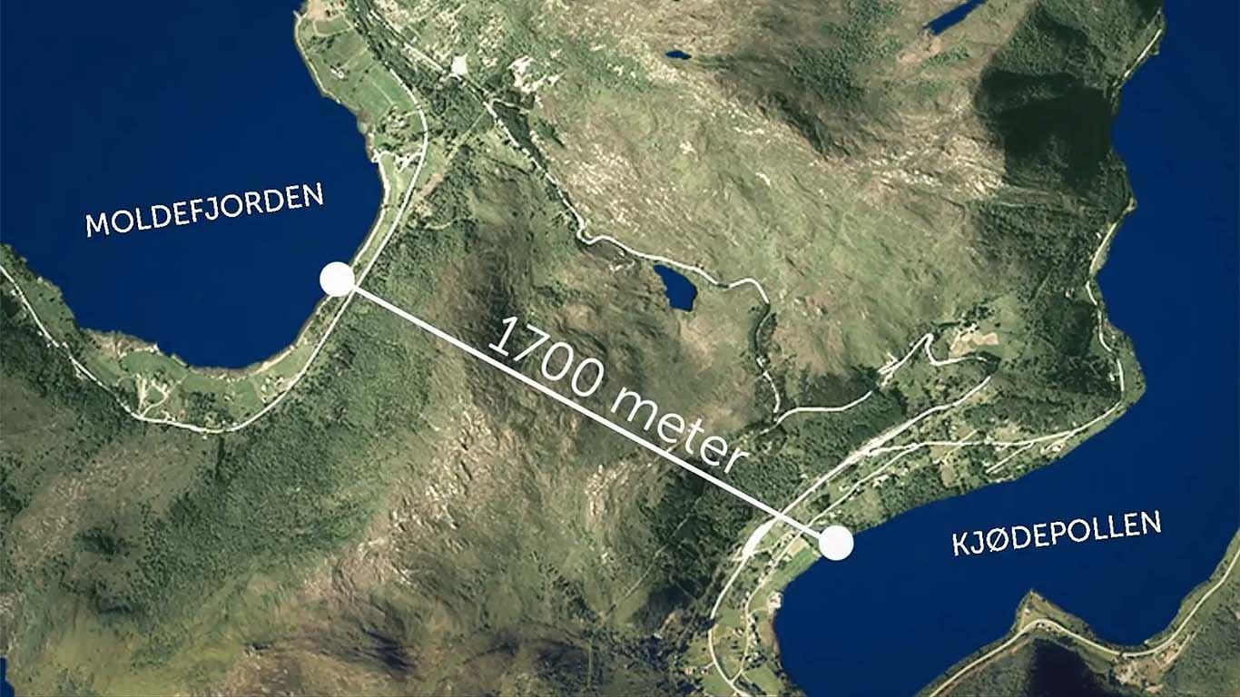 Norvežani su se najozbiljnije bacili u pripreme za gradnju prvoga namjenskoga tunela za brodove
