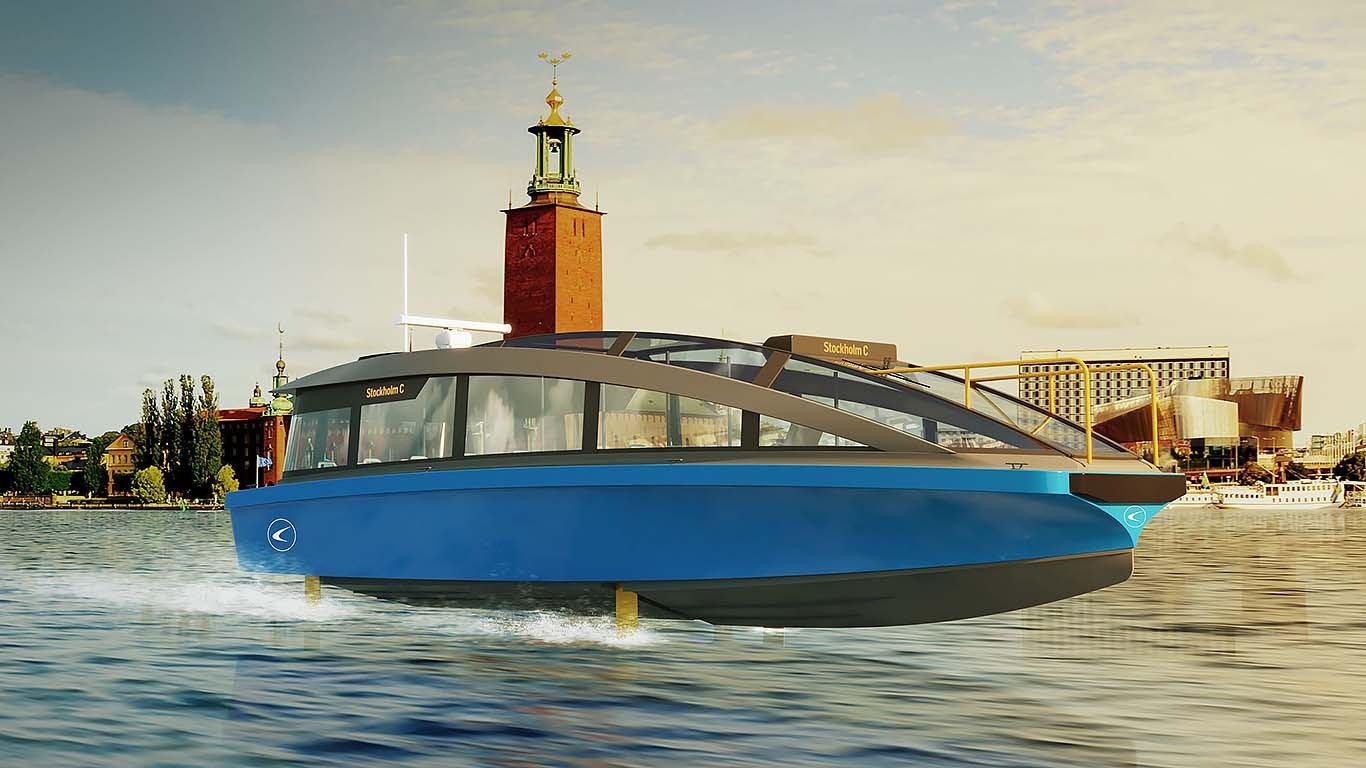 Candela Hidrokrilac, najbrža električna brodica za prijevoz putnika