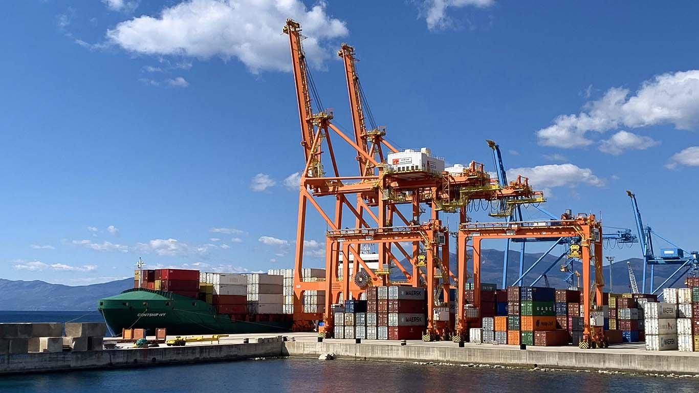 Riječka luka prošle godine zabilježila porast prometa od 18 posto