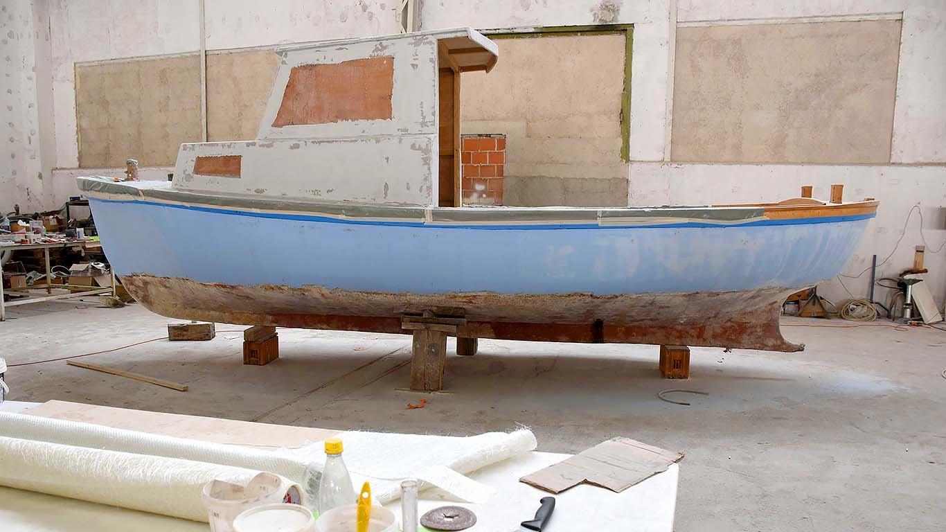 Plastificiranje brodice