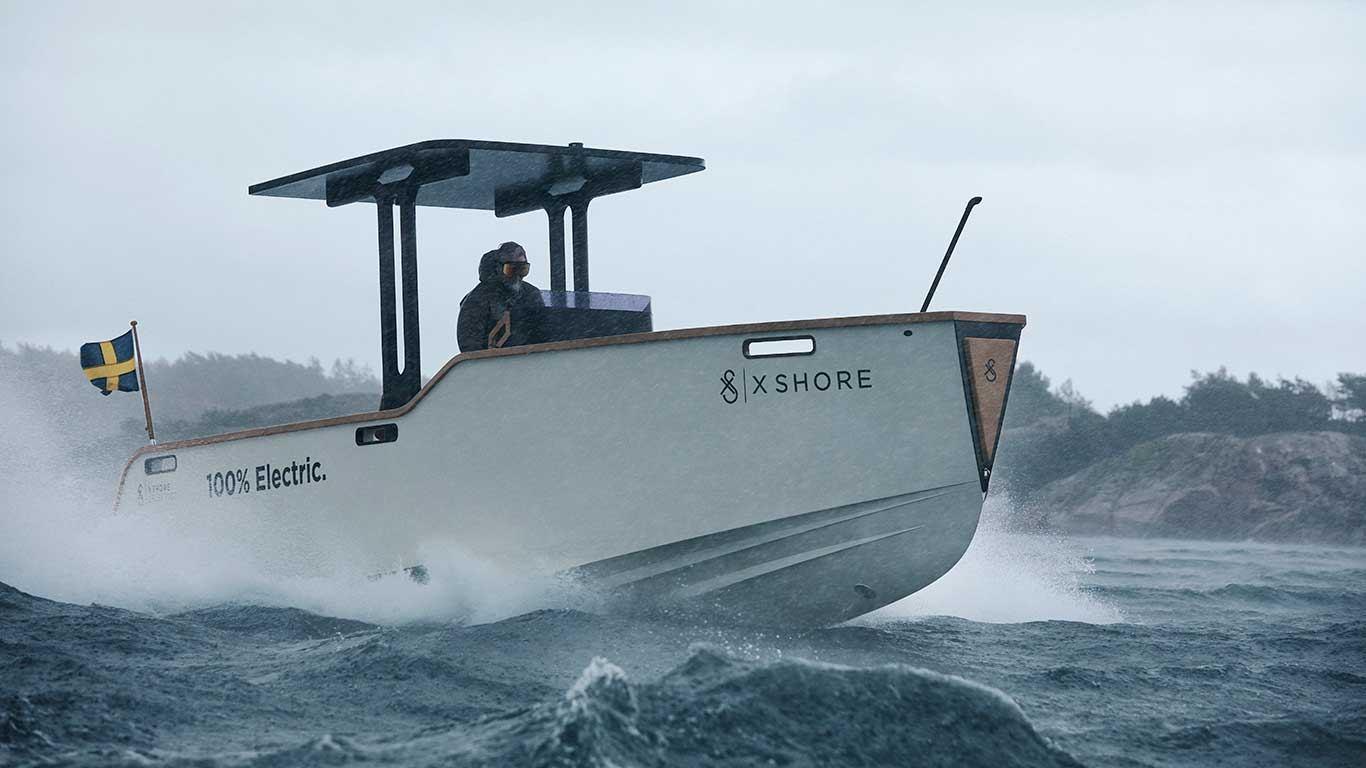 X Shore Eelex 6500 i Eeltrek 8000